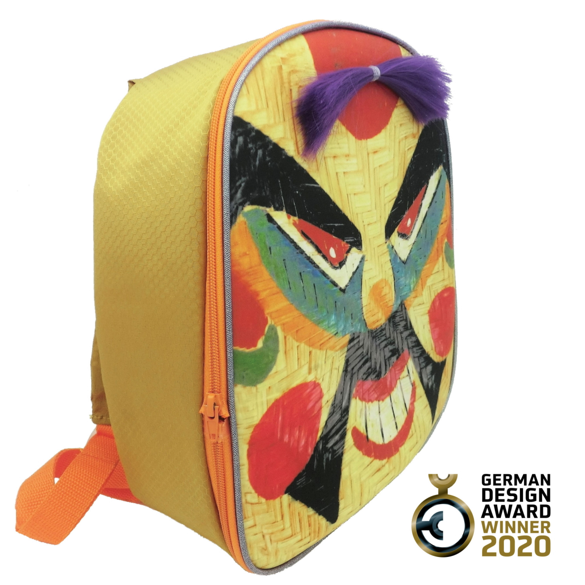 Vibrant Pirate Face- Off Backpack-FOBP2022
