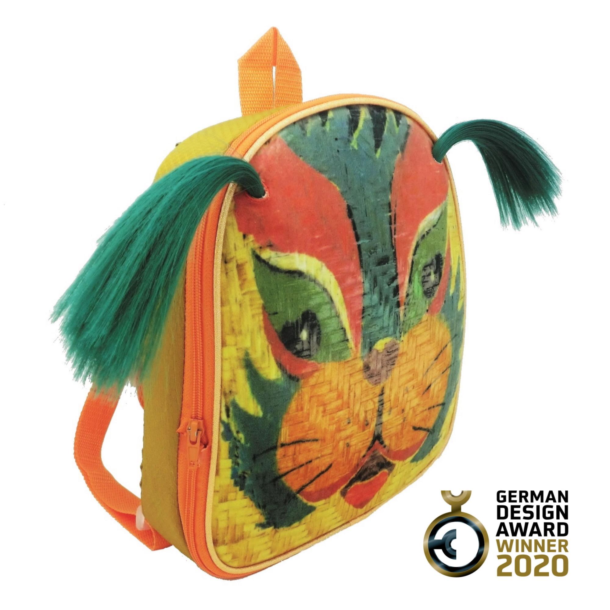 Vibrant Lion Face-Off Backpack-FOBP2011