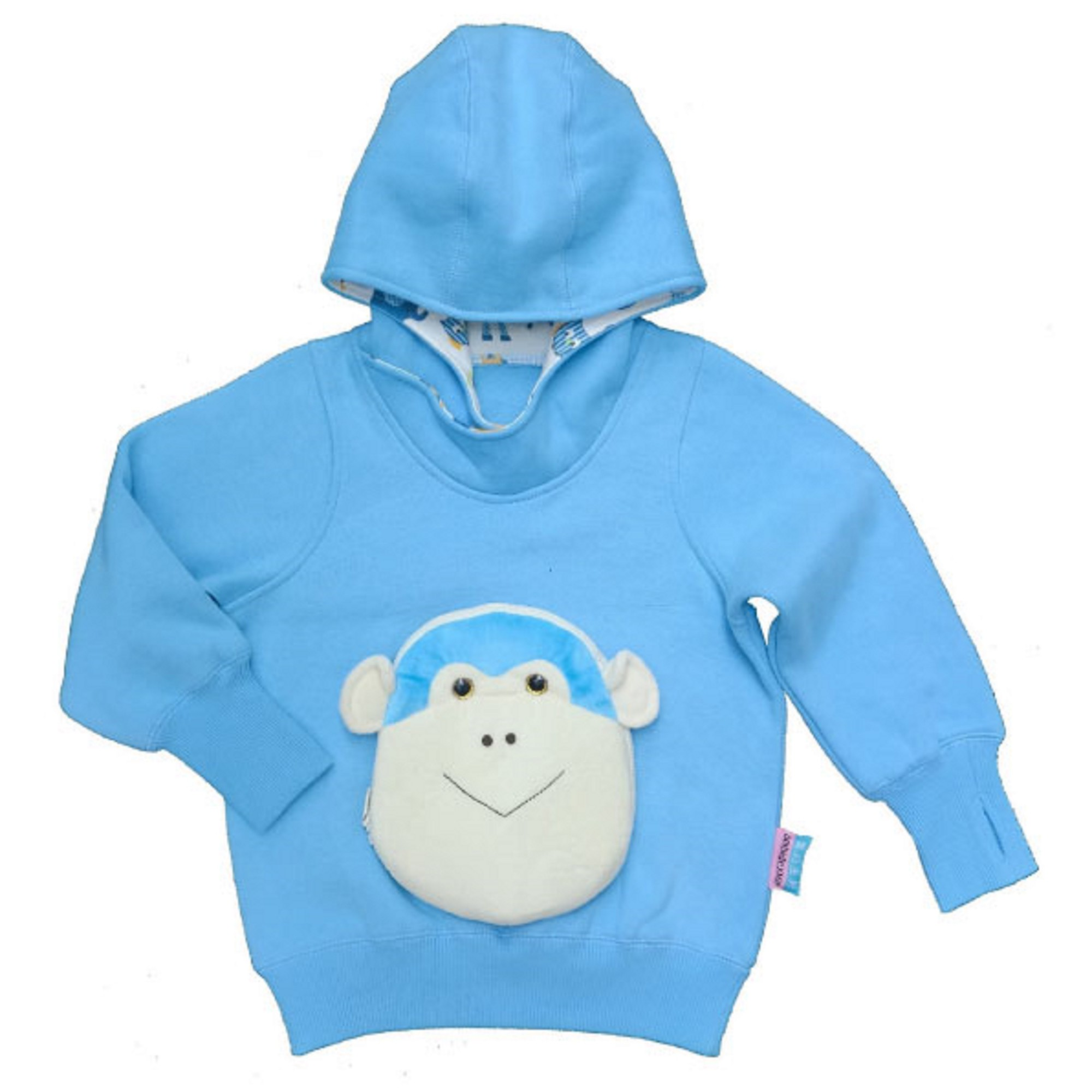 monkey face off hoodies - FOH1712