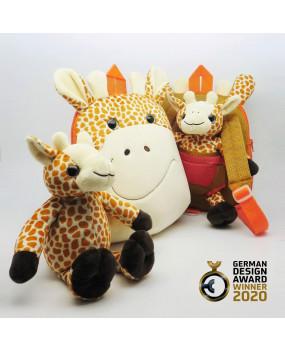 3 in 1 Giraffe Dual Face Backpack-FOBP2007