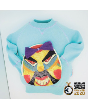 Vibrant Pirate Face-Off Sweatshirt-FOS2033