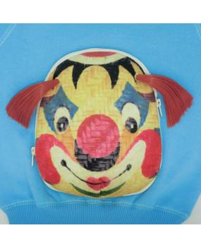 Vibrant Clown Face-Off Sweatshirt-FOS2032