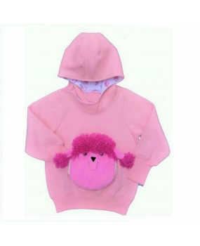 poodle face off hoodies - FOH1711