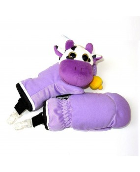 playful mittens with milk cow toy - M33