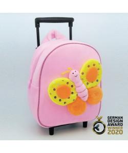 3D蝴蝶可拆卸拉杆背包-TBP2046