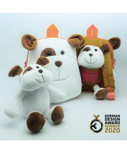 3合1田园狗双面小书包-FOBP2009