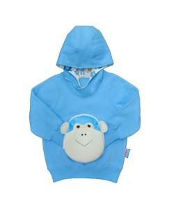 猴子风帽变脸卫衣 - FOH1712