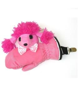 俏皮手套附贵妇犬玩偶 - M31