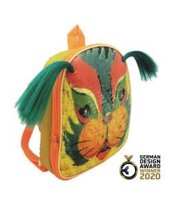 《馬戲團×京戲》獅子臉譜小書包-FOBP2011